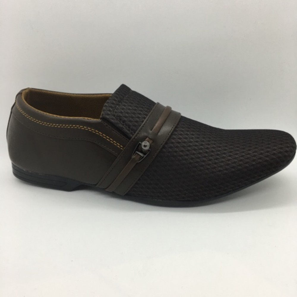 Men Shoes Brown Khaki Colour Lifestyles Casual with Buckle. JEFF