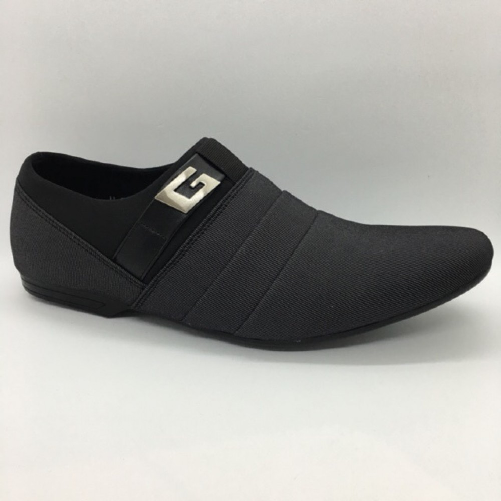 Men Shoes Grey Colour Lifestyles Casual with Buckle. JEFF