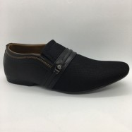 image of Men Shoes Black Colour Lifestyles Casual with Buckle. JEFF