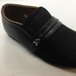Men Shoes Black Colour Lifestyles Casual with Buckle. JEFF
