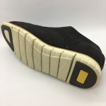 Men Leather Shoes Wingtip Oxford Black Color Lace-Up (Cole Haan). HUNTER
