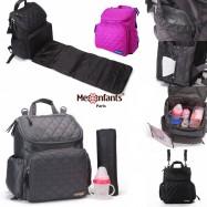 image of Diapers Baby Bag Backpack Nappy Children Kids 'Mes enfants Paris'