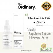 image of [ READY STOCK ] The Ordinary Niacinamide 10% + Zinc 1% 30ml