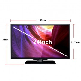 "image of PHILIPS 24"" HD LED TV / MONITOR 24PHA4110S w VGA Input [New Model]"