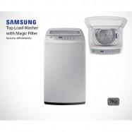 image of Samsung Fully Automated Washing Machine 7Kg WA70H4000SG/FQ