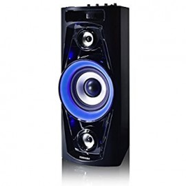 "image of Toshiba - 6-1/2"" Powered Wireless 2-Way Speaker (Each) - Black"