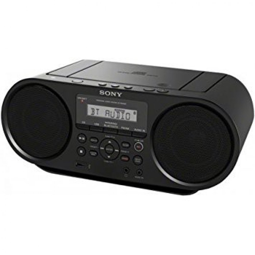 Sony Portable Bluetooth Digital Tuner CD Compo ZS-RS60BT