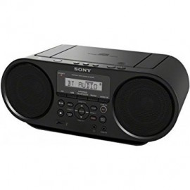 image of Sony Portable Bluetooth Digital Tuner CD Compo ZS-RS60BT