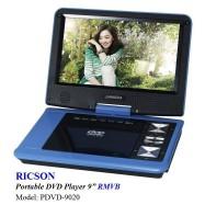 "image of RICSON PORTABLE DVD PLAYER 9"" PDVD-9020"