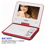 image of RICSON PORTABLE DVD PLAYER 7' PDVD-7020