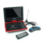 """Phison Portable DVD Player PD-980 (9"""" TFT LED) Rechargeable + USB"""