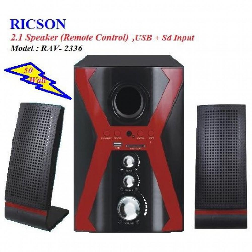Ricson Speaker RAV-2336 FM,USB,SD CARD