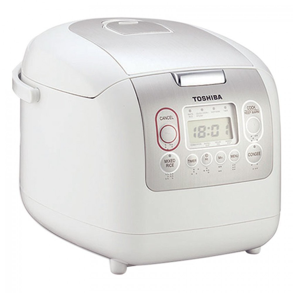 Toshiba Digital Rice Cooker RC-18NMFIM 1.8L White