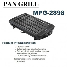 image of Morgan Pan Grill MPG-2898