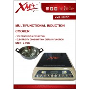 image of XMA-2007IC MULTIFUCTIONAL INDUCTION COOKER