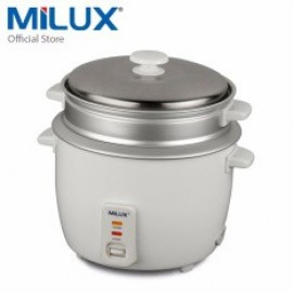 image of Milux rice cooker with STEAM TRAY [10 cup] MRC-228