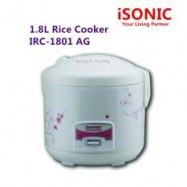 image of ISONIC 1.8 Litre Rice Cooker IRC-1801