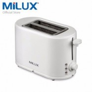 image of Milux 2 Slice Bread Toaster v Reheat and Defrost Function MBT-2333
