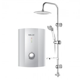 image of Milux Water Heater with Rain shower ML-638ER with Pump