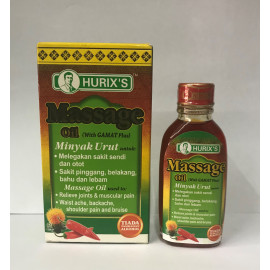 image of Hurix's Massage Oil (With Gamat Plus) 28ml