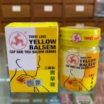 Three Legs Yellow Balsem 三脚标青草膏