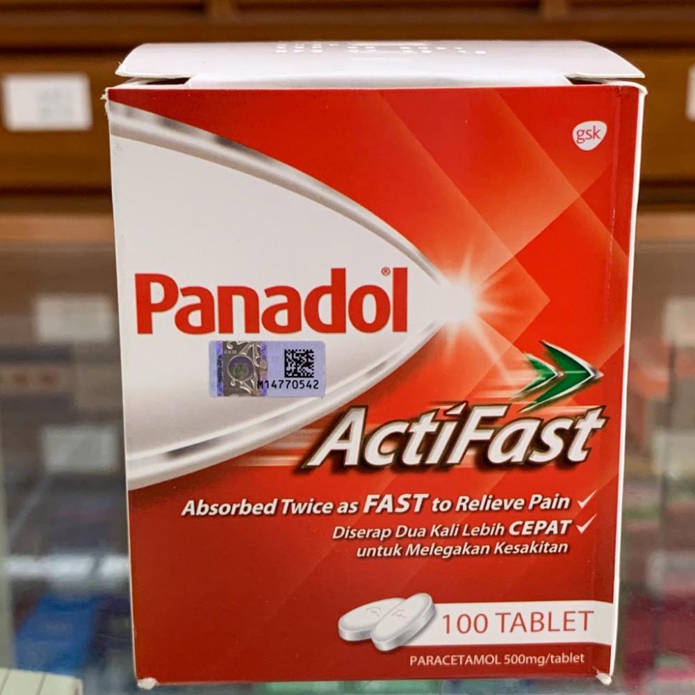 Panadol Actifast (100 tablets)