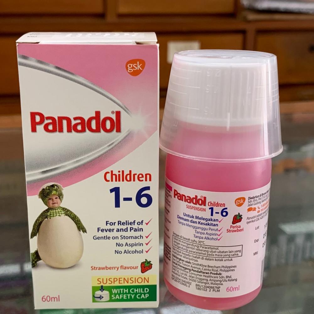 Panadol Children Aged 1-6 (60ml) 儿童(1-6岁)止痛药