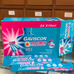 Gaviscon Liquid (double action)Relief from Heartburn & Acid indigestion Sachets (24x10ml)